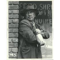 1984 Press Photo Ed Asner Film TV Stage Voice Actor - RRV77939