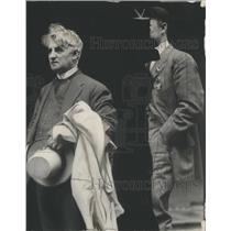 1909 Press Photo Playwright David Belasco Visits Chicago - RSC15423