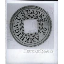 1979 Press Photo specimen congressmen Gold Coin Hand - RRX45699