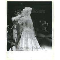 1988 Press Photo Eve Akins Tim Prichard Walt Disney Ice - RRU13719