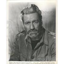 "1960 Press Photo Actor Guy Rolfe In ""Yesterday's Enemy"" - RRV36107"