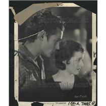 1931 Press Photo 7th Heaven Film Couple Scene Promo - RRW45363