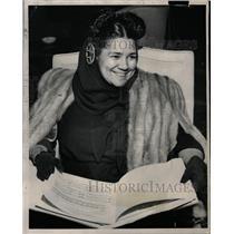 1950 Press Photo Actress Dorothy Maynor - RRW12491