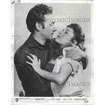 1950 Press Photo Dane Clark Ruth Roman American Movie Actor Actress Barricade