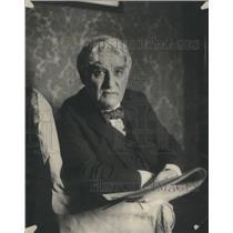 1923 Press Photo David Belasco Theatrical Producer Impresario Director