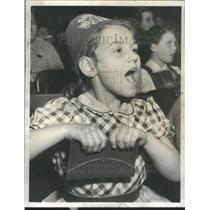 1957 Press Photo Shriners Circus Kathleen DeMarco Screa - RRU72603