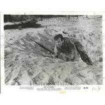 "1960 Photo Actor David Janssen In, ""Hell To Eternity"" - RRV73419"