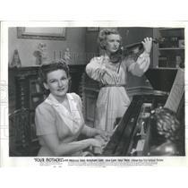 1941 Press Photo Lola Lane (Actress) - RSC09271