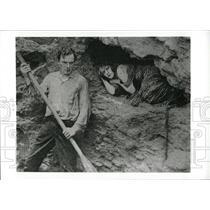 1919 Press Photo Male & Female Movie- RSA02627