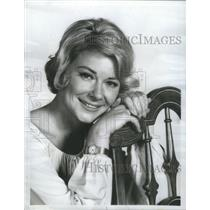 1972 Press Photo Hope Lange The New Dick Van Dyke Show- RSA57529