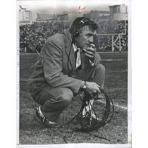 1956 Press Photo Frankie Albert American Football Coac - RRW31451