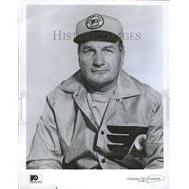 1969 Press Photo Vic Stasiuk Coach Philadelphia Flyers - RRV00793