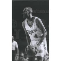 Press Photo Ronald Ron Harper Los Angeles Clippers American basketball player