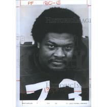 1974 Press Photo Ernie McMillan, St Louis Football Cardinals - RSC26011