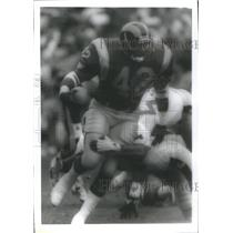 Press Photo Gregory Leon Bell Los Angeles Rams American football running back