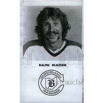 1978 Press Photo Ralph Klassen Cleveland Barons Hockey - RRW73923