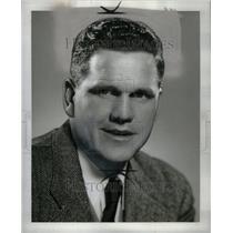 1952 Press Photo BERNIE CRIMMINS INDIANA FOOTBALL - RRU62703