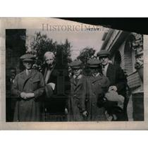 1921 Press Photo Rockefeller Family - RRU20253