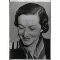 1937 Press Photo Madeleine De Fontanges Journalist Fr - RRU17465