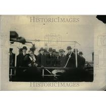 1915 Press Photo Henry Ford Peace Party On Boat - RRU20261
