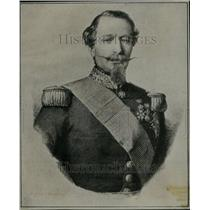 1919 Press Photo Artist Rendering Portrait Napoleon III - RRU18457
