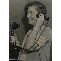 1924 Press Photo Mrs Nalle Austin Texas Hotel Bermother - RRW79249