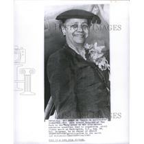 1963 Press Photo Anna Arnold Hedgeman, Civil Rights activist- RSA91615