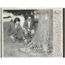1976 Press Photo Larry Evale Superior State College elm - RRV89427