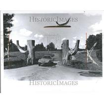1974 Press Photo Elmgate & Orchard Lake Trail Entrance - RRV89105