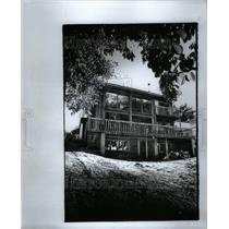 1978 Press Photo Robert Segar Home Architect Building - RRU62457