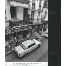 1977 Press Photo Fort-de-France, Martinque Balconies- RSA15129