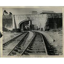 Press Photo Vatican Railway After Completion Italy - RRY59205