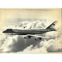 1988 Press Photo White House Jet Presidential Planes - RRX78543
