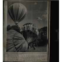 1973 Press Photo Balloon Race Liftoff Sandy Point Park - RRY57353