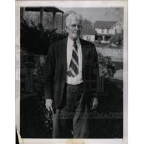 1944 Press Photo John Daniels, Witness To First Flight - RRX70253