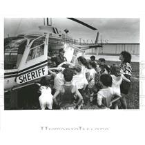 1987 Press Photo Hernando County Florida Aviation Show- RSA05693