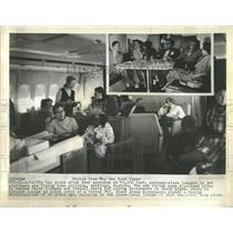 1973 Press Photo American Airliners Economy Eastern Pla- RSA06029