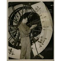 1940 Press Photo Glenn L. Martin Co. Plane Production - RRX73437