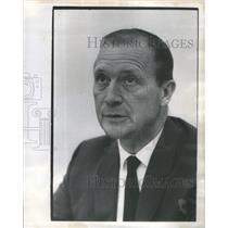 1972 Press Photo Bill Barnhart/United Air Lines/Episcopal Deacon- RSA82917