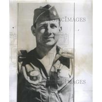 1956 Press Photo Major David Critchlow Sacramento H Bomb Eniwetok Pilot Drop