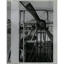 1984 Press Photo pilot Ed Hoffman Benoist replica Coast - RRY57195