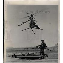 1957 Press Photo The Navy's New One-Man Helicopter - RRX71925