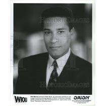 1111 Press Photo Phil Morris Portrays Eddie Bock Conscious Young Reporter WIOU
