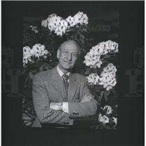 1974 Press Photo Bruce Krasbergh Flower Garden Show- RSA48163