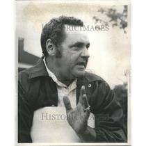 1976 Press Photo Robert Hanrahan teacher Niles School - RRU78845