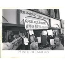 1990 Press Photo Humboldt Park North Pulaski Library - RRV41571