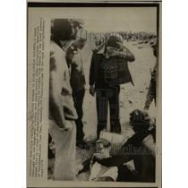 1976 Press Photo South Africa Demonstrator Hurt - RRX64987