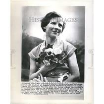 1953 Press Photo Princess Margerthe Denmark King - RRV80101