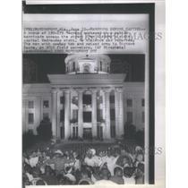 1967 Press Photo Marchers Alabama Capitol Richard Beone- RSA25171