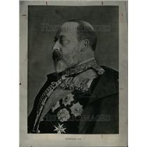 1919 Press Photo Edward VII United Kingdom Britain Saxe - RRU33427